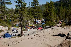 Camping on the Rubicon Trail