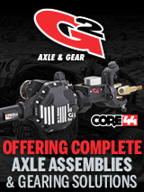 G2 Axle and gear banner