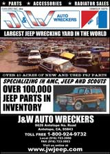 Banner for J&W Jeep